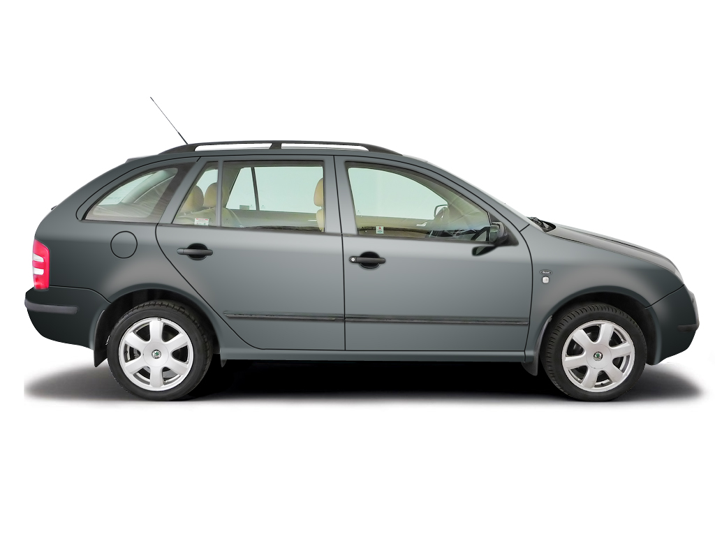 Checking tyre pressures Skoda Fabia 2000 - 2006 Diesel 1.4 TDi