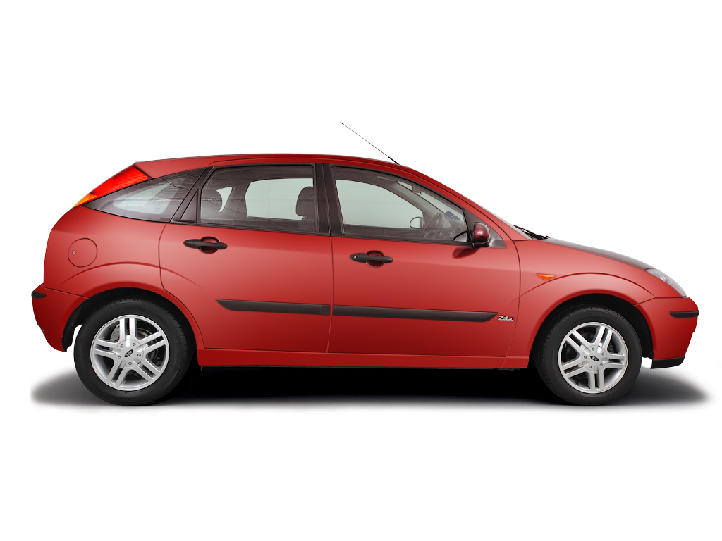 Checking tyre pressures Ford Focus 2001 - 2005 Petrol 1.8 ZETEC