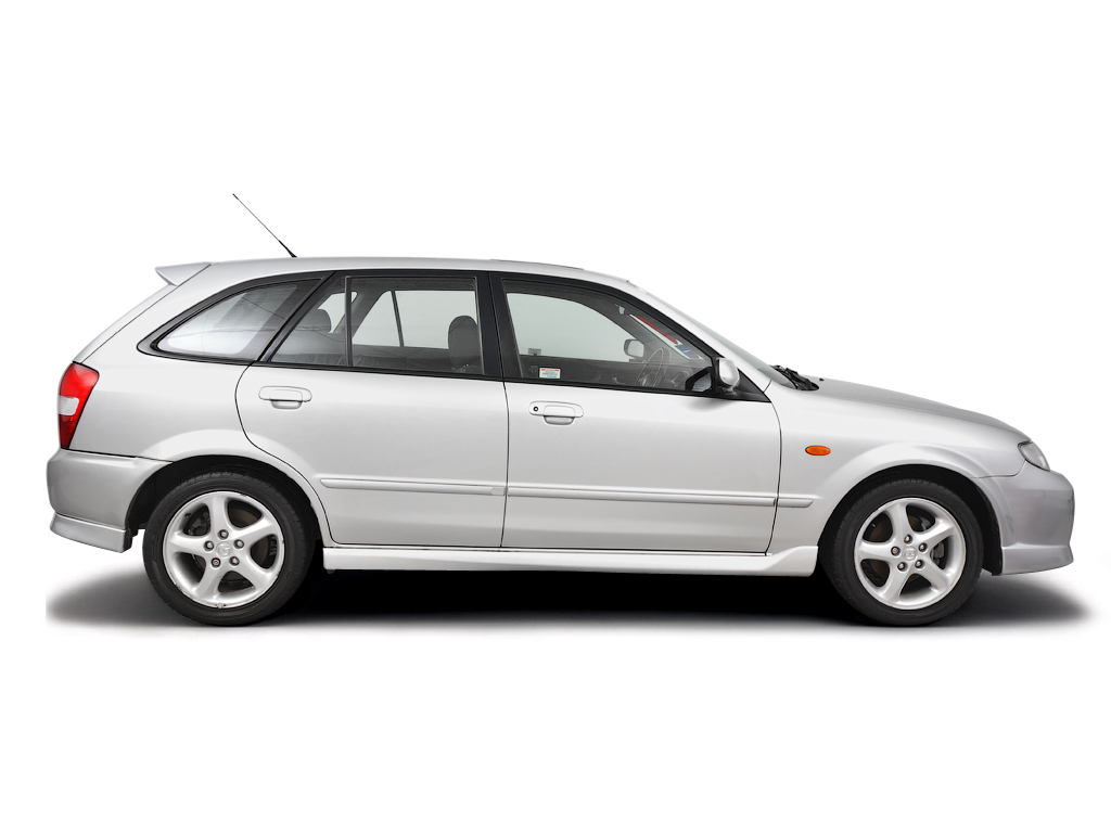 Roadside wheel change Mazda 323 2001 - 2004 Petrol 2.0