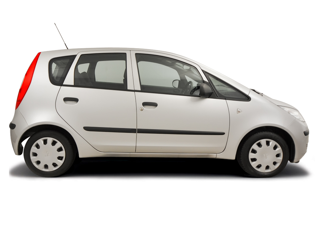 Checking tyre pressures Mitsubishi Colt 2004 - 2009 Petrol 1.1