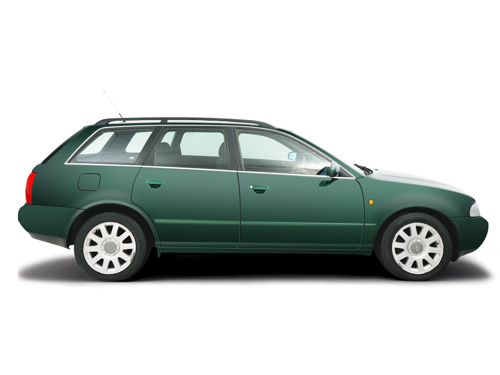 Checking tyre pressures Audi A4 1995 - 2000 Petrol 2.4