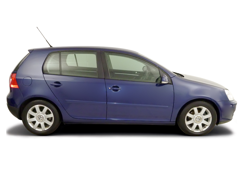 Checking tyre pressures Volkswagen Golf 2004 - 2008 Diesel 1.9 PD