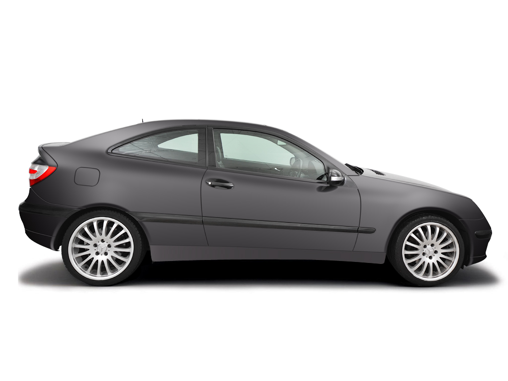 Checking tyre pressures Mercedes-Benz C-Class 2000 - 2007 Petrol C230 - 2.5