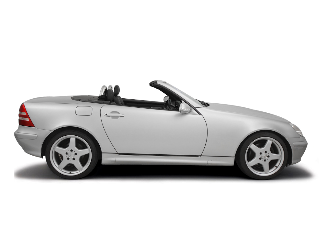 Checking tyre condition Mercedes-Benz SLK 2000 - 2004 Petrol SLK 320 - 3.2 V6