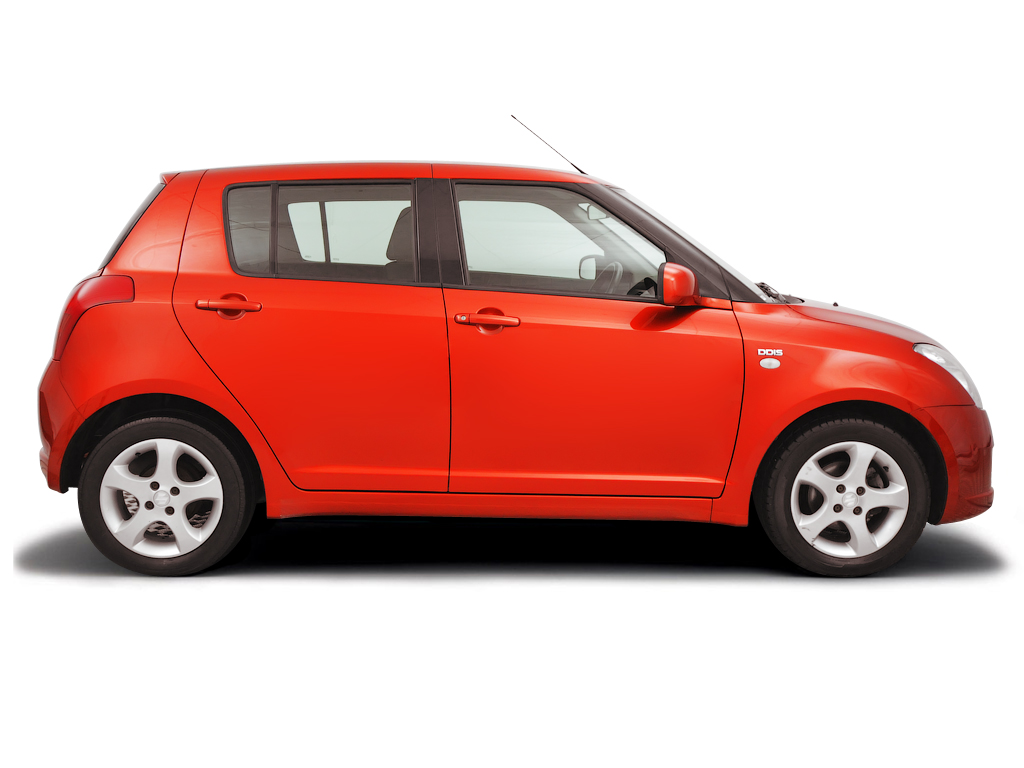 Checking tyre pressures Suzuki Swift 2004 - 2011 Diesel 1.3 DDiS