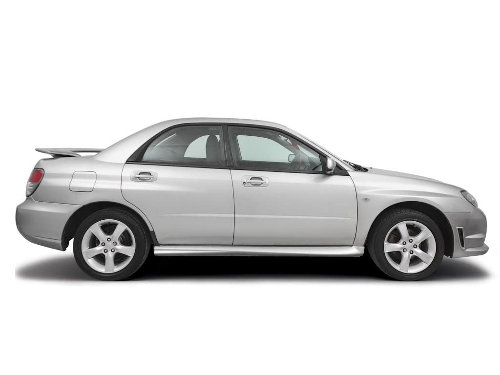 Opening the bonnet Subaru Impreza 1997 - 2002 Petrol 2.0