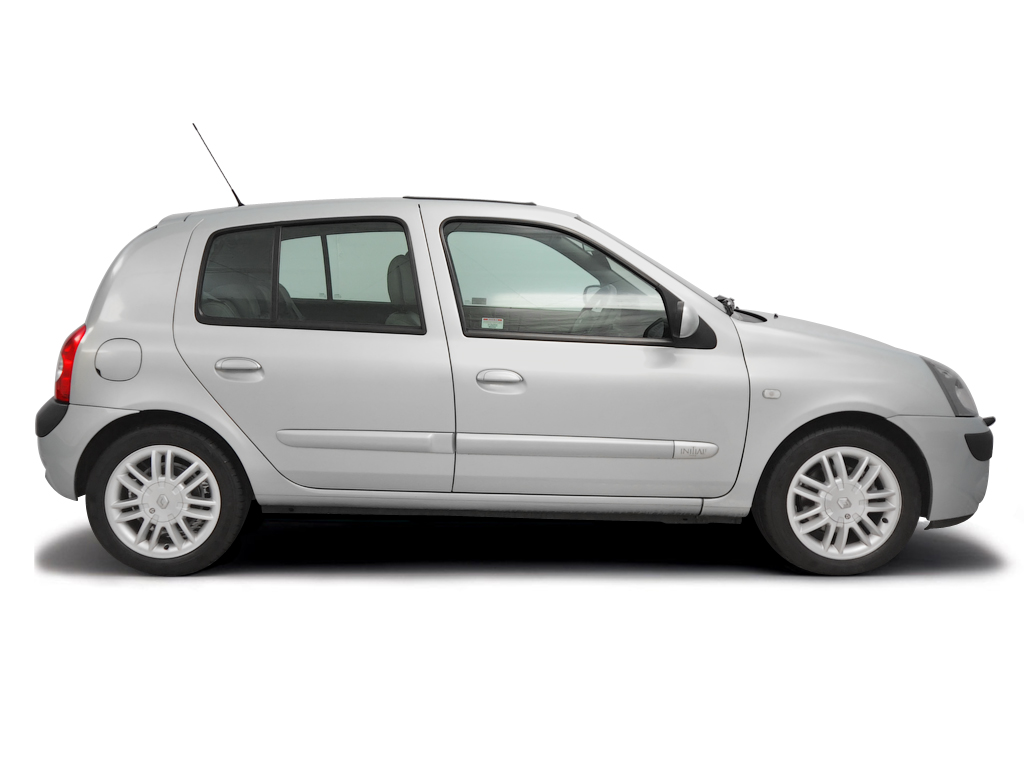Checking tyre condition Renault Clio 2001 - 2005 Petrol 1.6