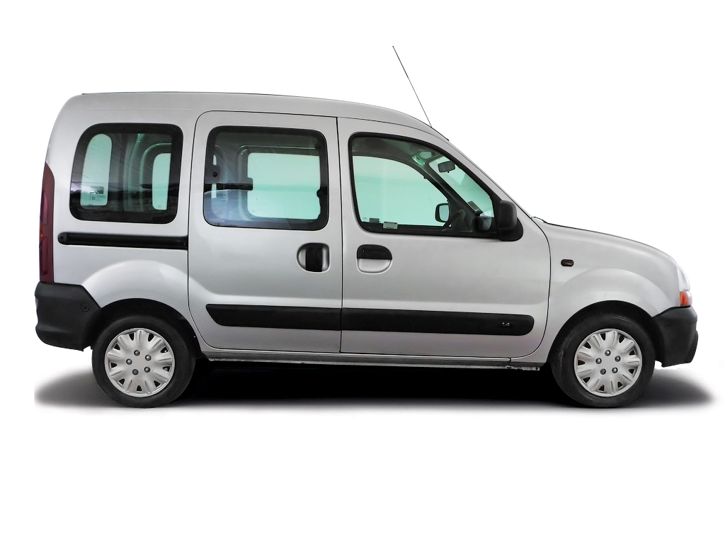 Checking tyre pressures Renault Kangoo 1999 - 2003 Petrol 1.4