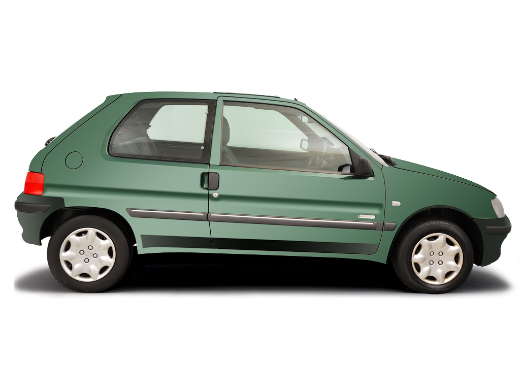 Jacking - vehicle support Peugeot 106 1991 - 2004 Petrol 1.1