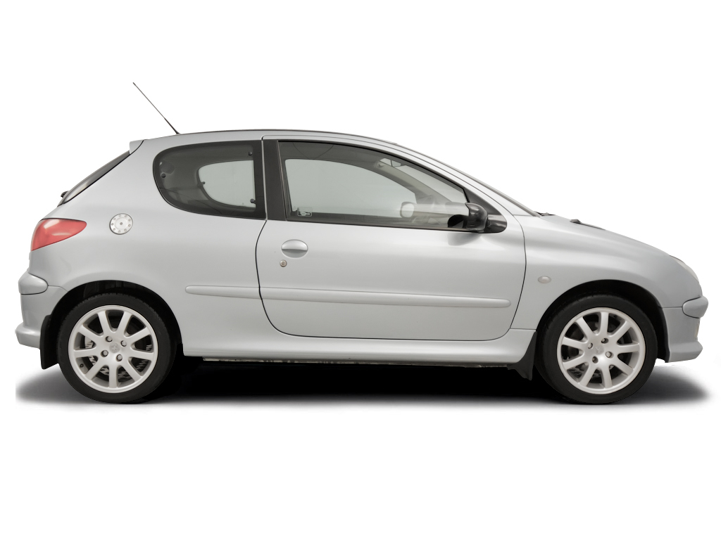 Checking tyre pressures Peugeot 206 2002 - 2009 Petrol 2.0 GTi
