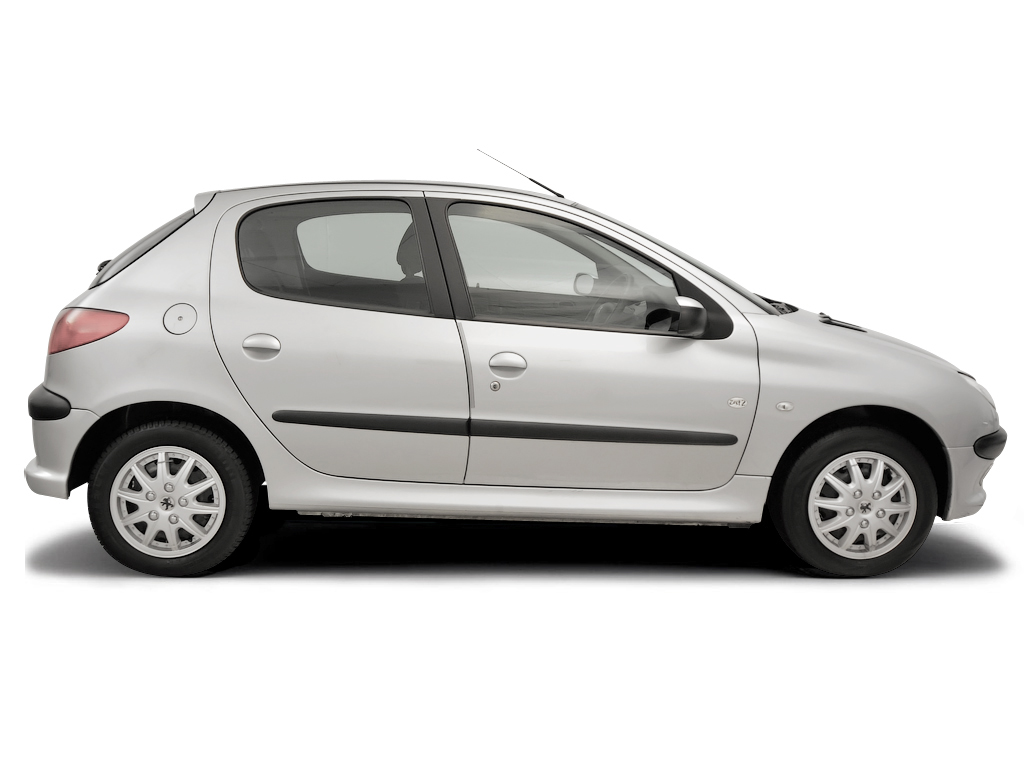 Checking tyre pressures Peugeot 206 1998 - 2009 Petrol 1.1