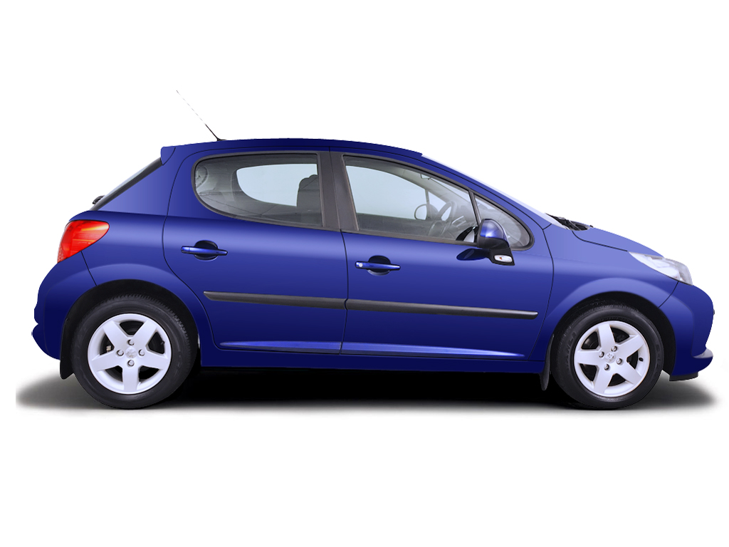 Roadside wheel change Peugeot 207 2006 - 2009 Petrol 1.4