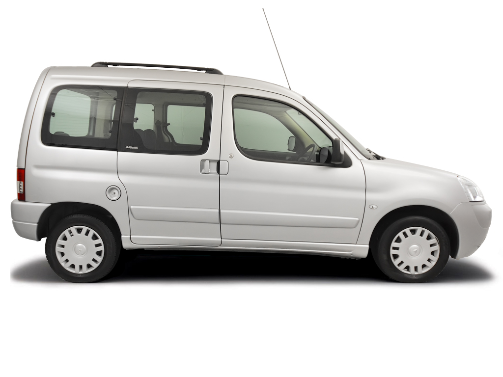 Checking tyre pressures Citroen Berlingo Multispace 1996 - 2010 Diesel 1.8