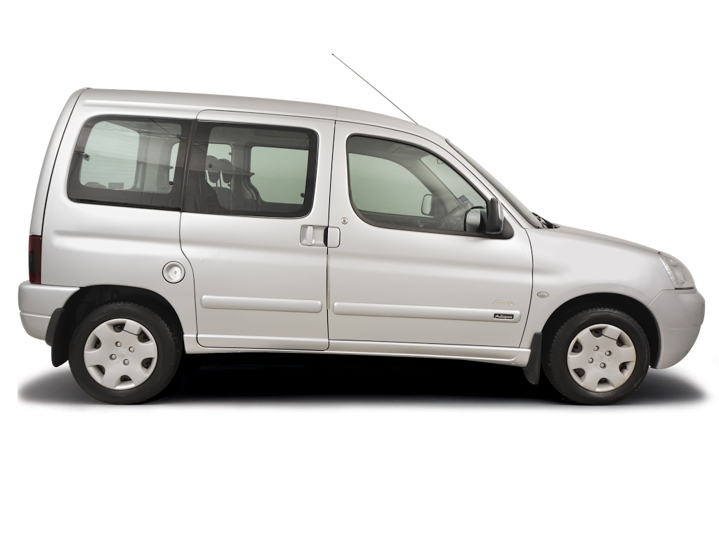 Checking tyre condition Citroen Berlingo Multispace 1996 - 2010 Petrol 1.8