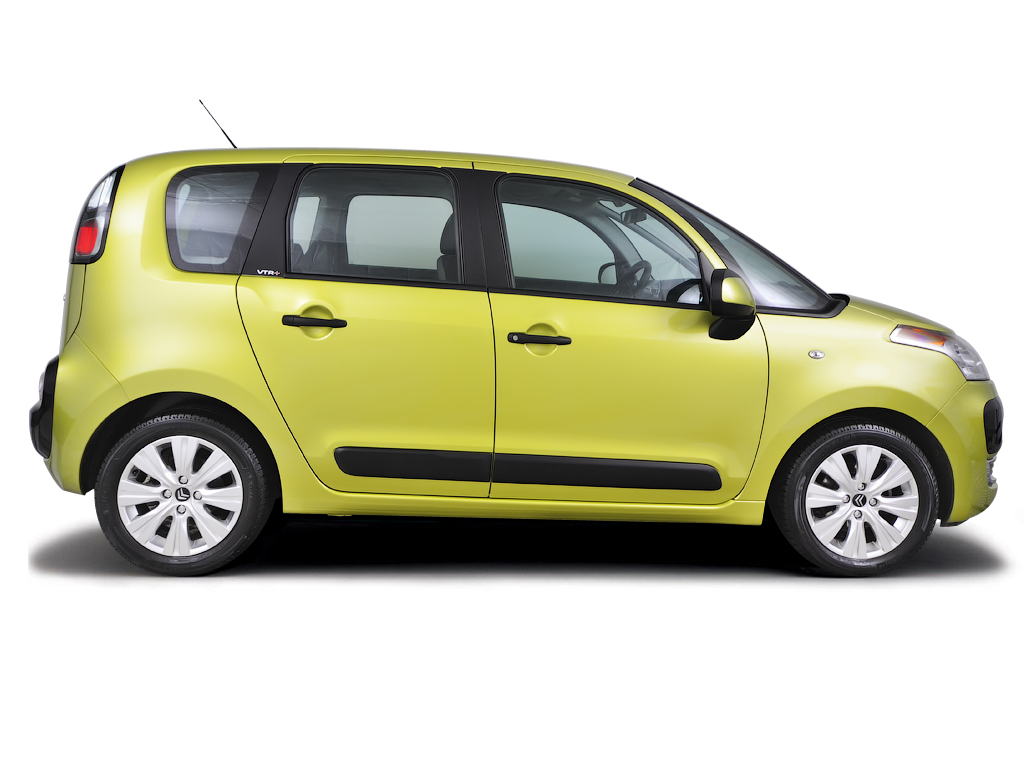 Checking tyre condition Citroen C3 Picasso 2009 - 2014 Petrol 1.4