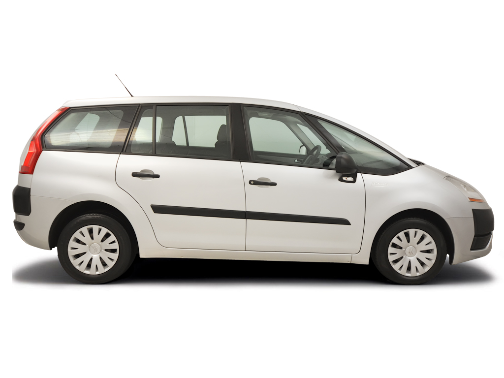 Checking tyre pressures Citroen C4 Picasso 2007 - 2014 Petrol 1.8