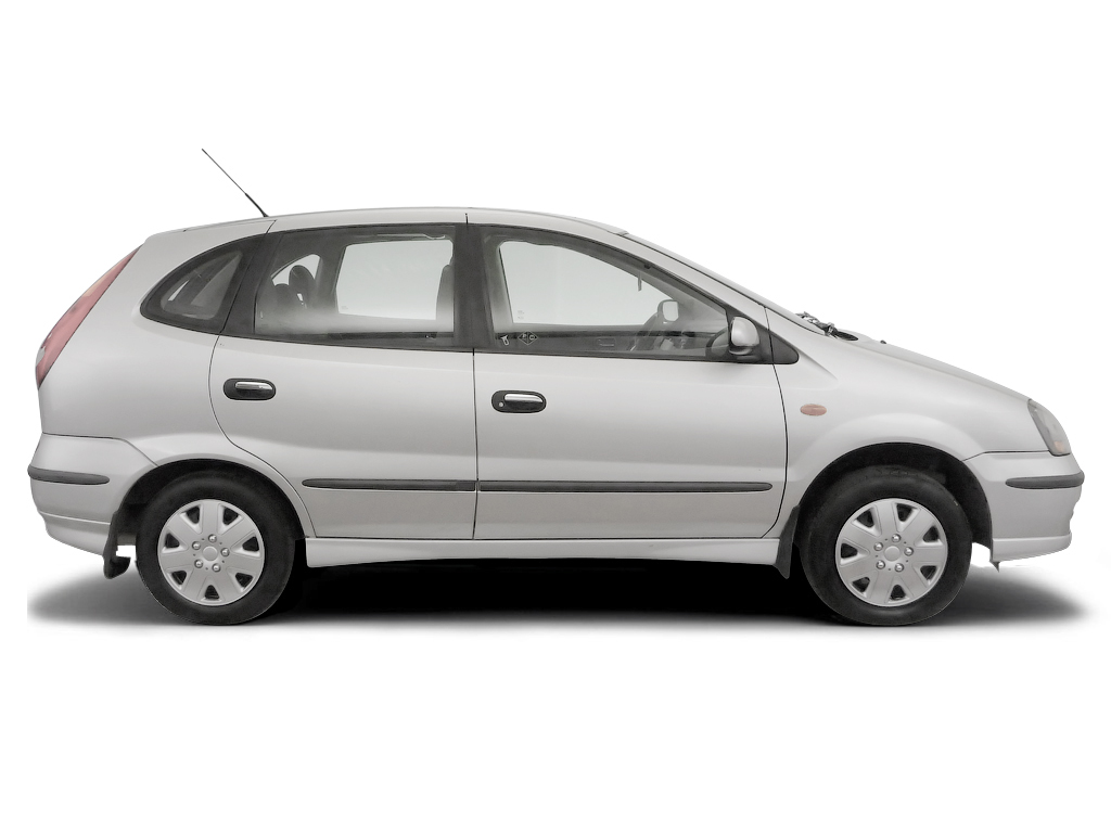 Checking tyre pressures Nissan Tino MPV 2000 - 2007 Petrol 1.8