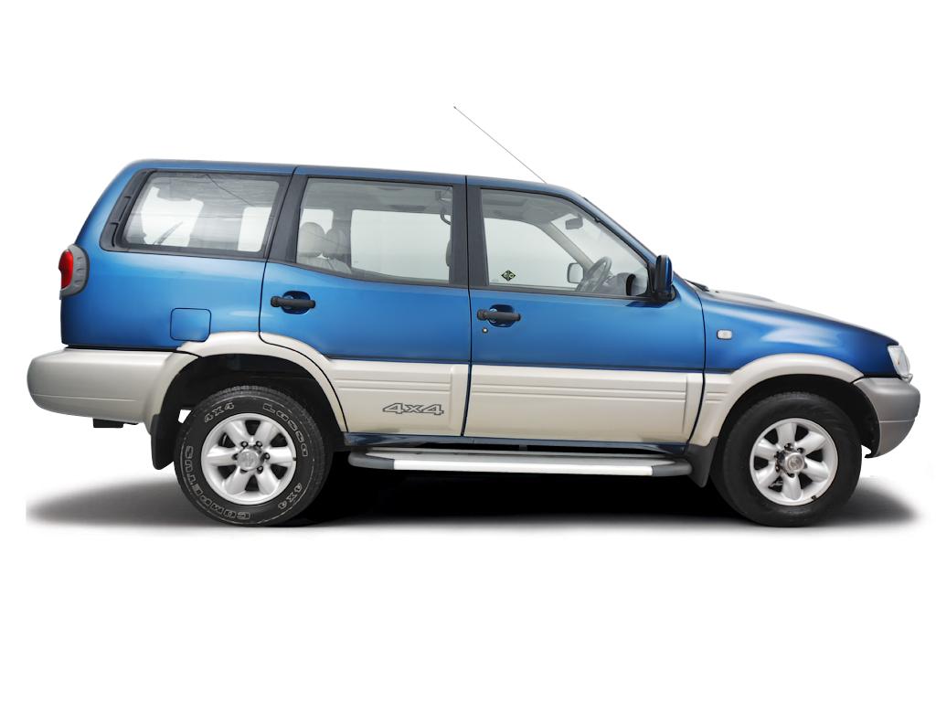 Checking tyre pressures Nissan Terrano 2002 - 2006 Diesel 2.7 TD