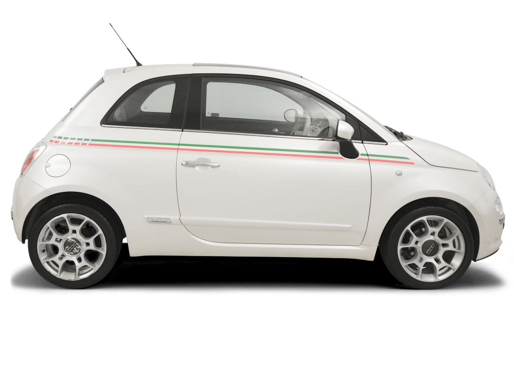 Checking tyre pressures Fiat 500 2004 - 2012 Diesel 1.3 Multijet