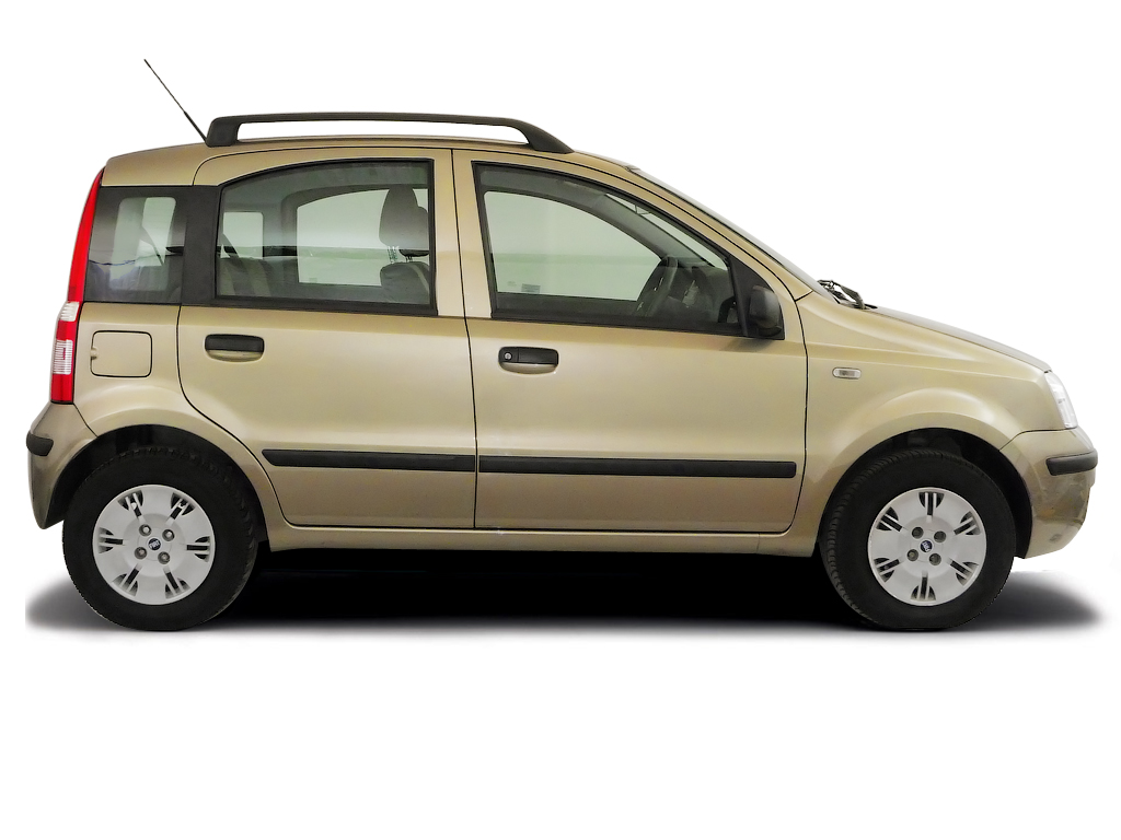 Checking tyre pressures Fiat Panda 2004 - 2012 Diesel 1.3 Multijet