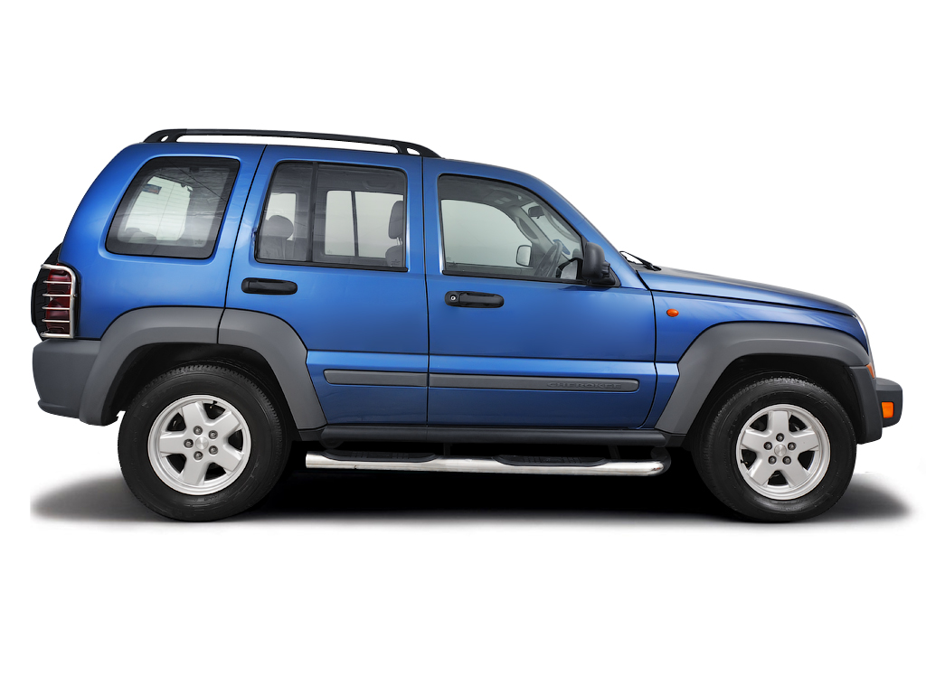 Checking tyre pressures Jeep Cherokee 2002 - 2011 Diesel 2.8 CRD