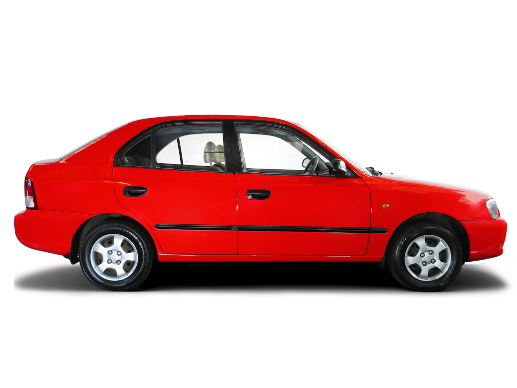 Checking tyre pressures Hyundai Accent 2000 - 2006 Diesel 1.5 D CDRi