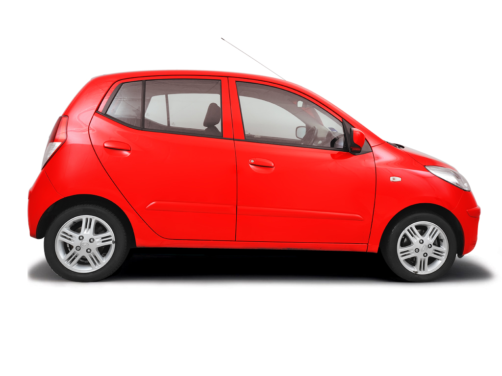 Checking tyre condition Hyundai i10 2008 - 2012 Petrol 1.1