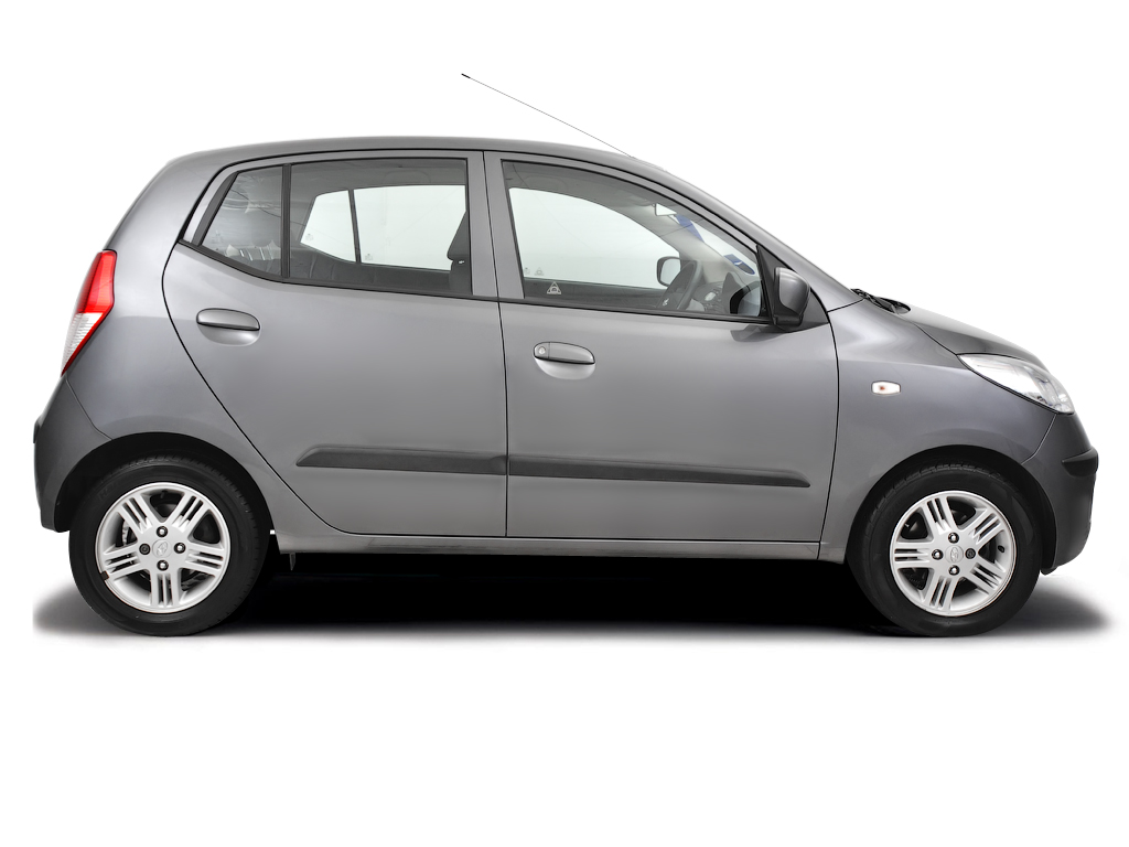 Opening the bonnet Hyundai i10 2008 - 2012 Petrol 1.2
