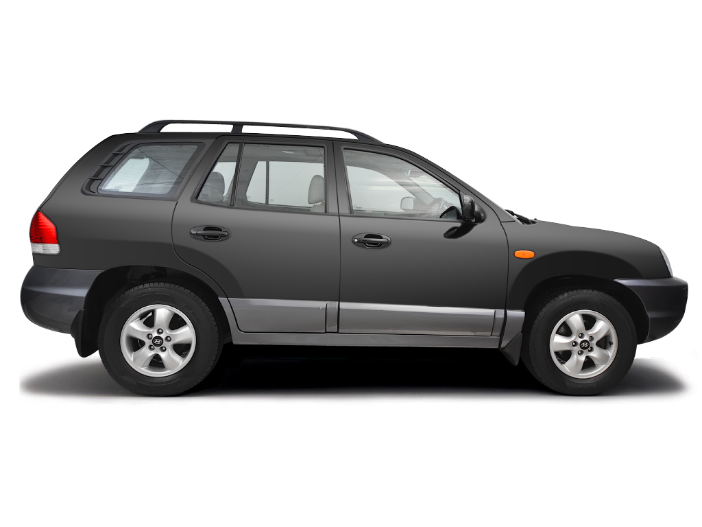 Checking tyre pressures Hyundai Santa Fe 2001 - 2006 Petrol 2.4