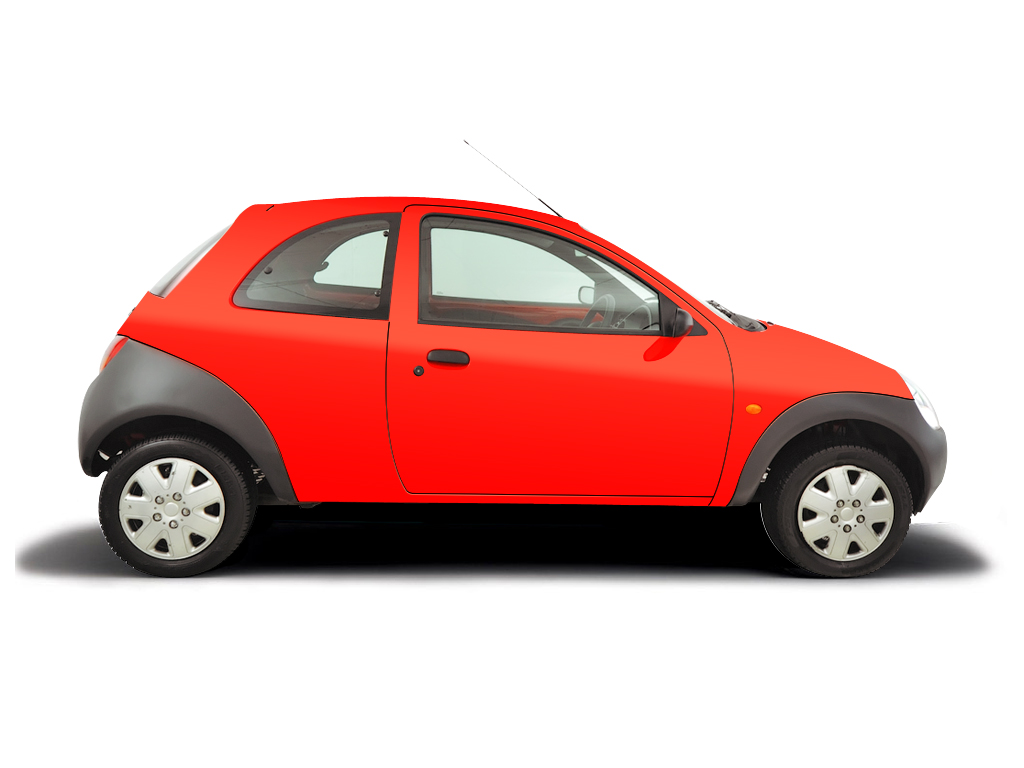 Checking tyre pressures Ford Ka 2002 - 2008 Petrol 1.3