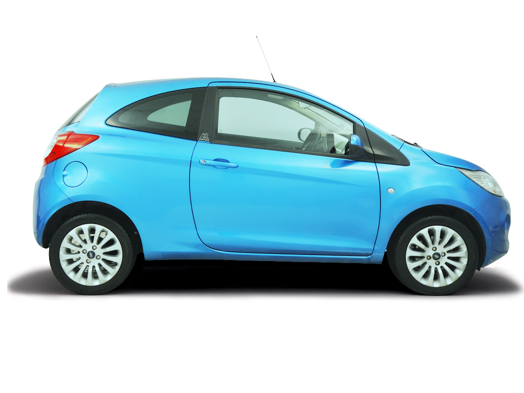 Opening the bonnet Ford Ka 2009 - 2014 Petrol 1.2