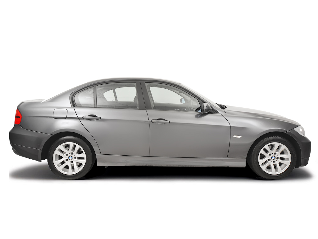 Checking tyre condition BMW 3-Series 2005 - 2008 Diesel 320d - 2.0