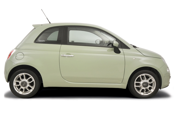 Checking tyre condition Fiat 500 2004 - 2012 Petrol 1.2
