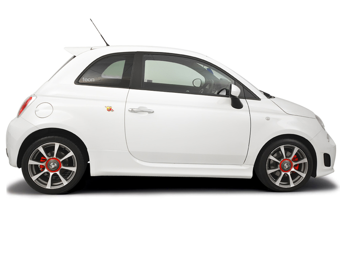Opening the bonnet Fiat 500 2004 - 2012 Petrol 1.4 Turbo Abarth