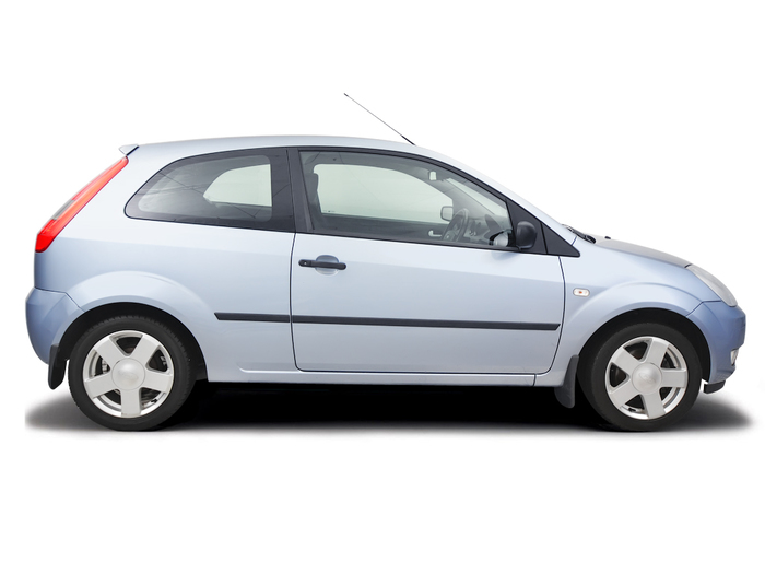Checking tyre pressures Ford Fiesta 2002 - 2008 Petrol 1.4 16v