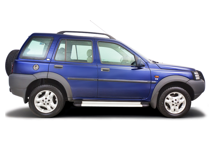 Checking tyre condition Land Rover Freelander 1997 - 2006 Petrol 2.5 V6