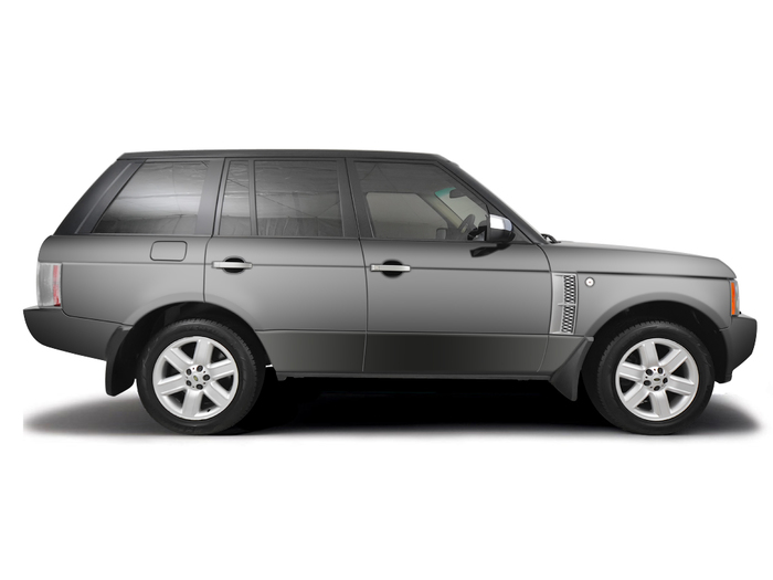 Checking tyre condition Land Rover Range Rover 2001 - 2007 Diesel 3.0 TD6