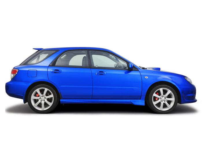 Opening the bonnet Subaru Impreza 2002 - 2011 Petrol 2.5