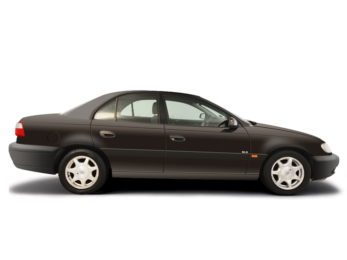 Checking tyre condition Vauxhall Omega 1994 - 1999 Petrol 2.5 V6