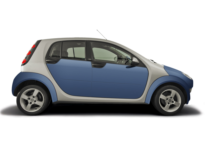 Checking tyre pressures Smart ForFour 2004 - 2008 Petrol 1.1