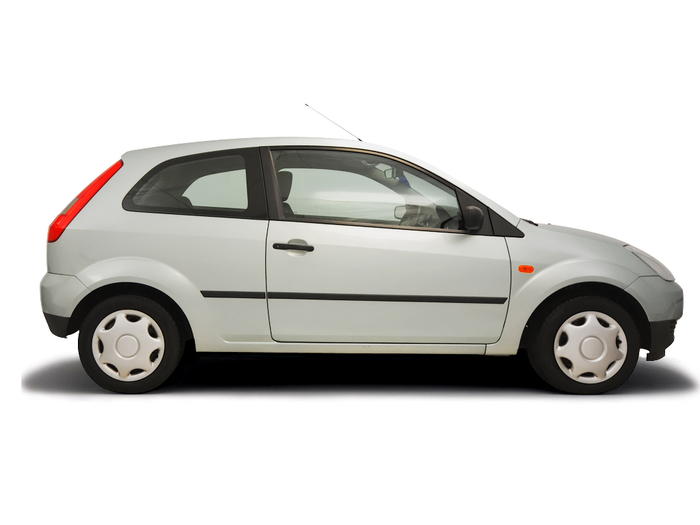 Checking tyre pressures Ford Fiesta 2002 - 2008 Petrol 1.3
