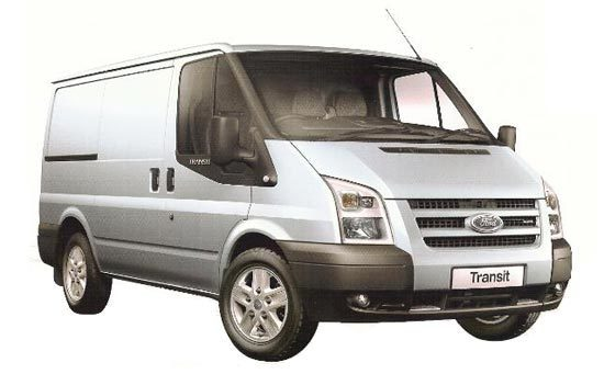 Opening the bonnet Ford Transit 2006 - 2013 Diesel 2.4