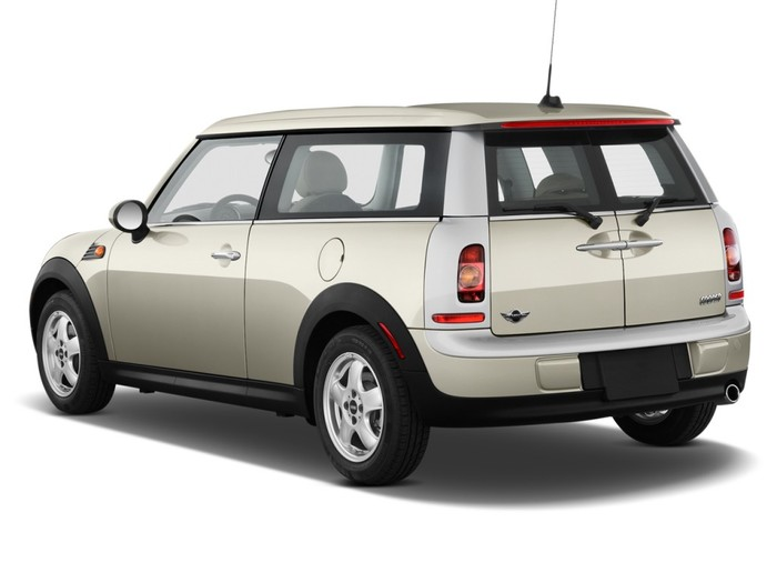 Checking tyre pressures Mini Clubman 2007 - 2011 Diesel 2.0 D