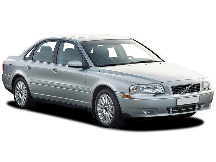 Checking tyre pressures Volvo S80 1998 - 2007 Petrol 2.4