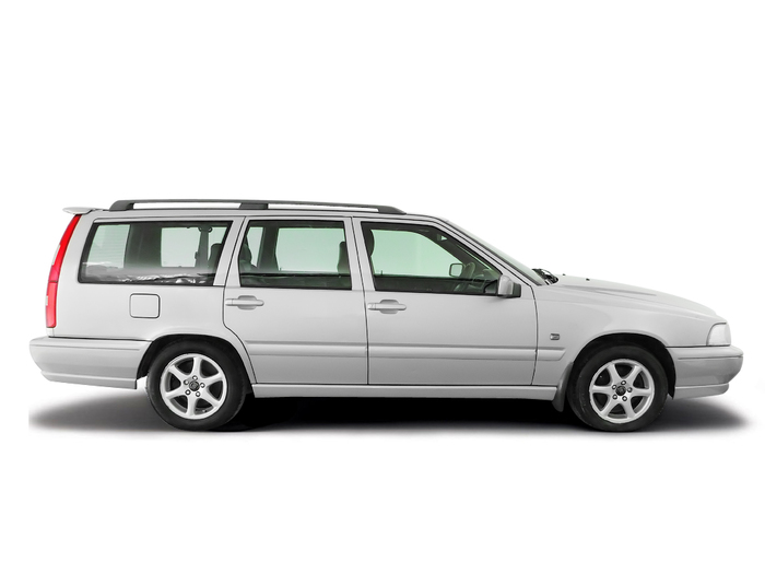 Coolant replacement Volvo V70 1998 - 2007 Diesel 2.4D
