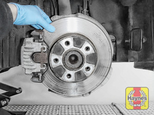 Illustration of step: Check condition of the brake discs - step 5