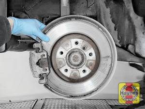 Illustration of step: Check condition of the rear brake discs - step 11