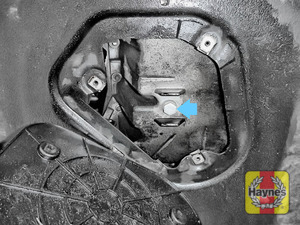 Illustration of step: Replace (new) sump plug and washer - step 7