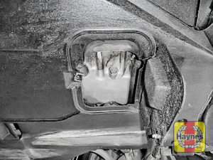 Illustration of step: Replace (new) sump plug and washer - step 8