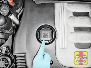 Illustration of step: Locate the oil filler cap - step 4